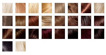 Палитра краски для волос без аммиака Лореаль Кастинг