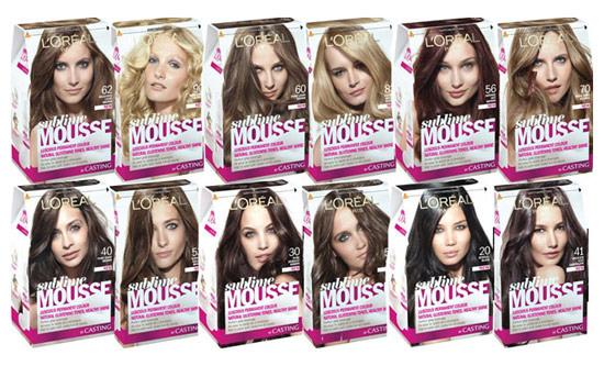 Краска Sublime Mousse (Сублим Мусс) от Loreal