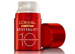 Дневной крем для лица Лореаль РевитаЛифт (LOREAL RevitaLift) полное восстановление 10