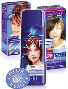Профессиональная краска для волос Эстель (Estel)