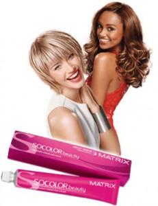 Стойкая краска для волос Матрикс (Matrix SOCOLOR beauty)